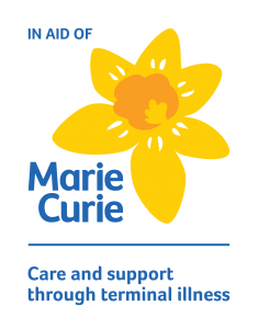 Marie Curie - care and support through terminal illness - logo